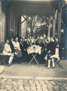 Feestmaal,ergens in nederland jaren 20