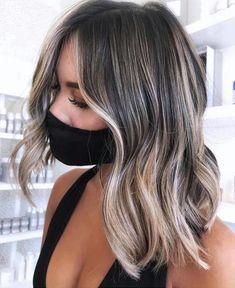 Medium Hair Styles, Short Hair Styles, Ombre Hair Styles, Natural Hair Styles, Medium Long Hair, Brown Blonde Hair, Black Hair, Blonde Asian Hair, Cool Blonde