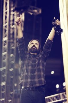 Lead singer Mac Powell of Third Day at SoCal Harvest in Angel Stadium of Anaheim, Aug. Description from christianpost.com. I searched for this on bing.com/images