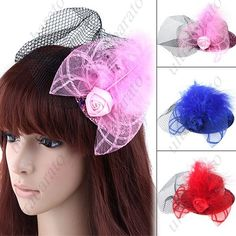 $4.49 - Sequins Decorated Hair Accessory Hair Ornament Head Band Headwear with Rose Lace for Lady from UltraBarato Gadgets