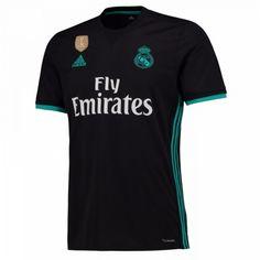 Real Madrid Venkovní Dres 17-18 Krátký Rukáv Ac Milan Shirt 98b5189c29f77