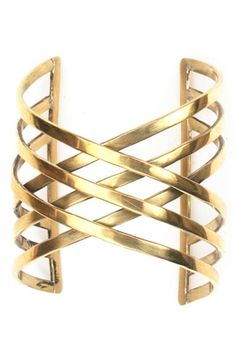 SOKO 'Crossed Kizimba' Cuff available at #Nordstrom