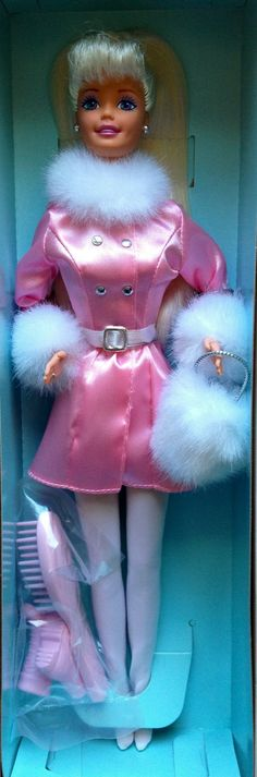 Winter Dazzle Barbie doll (special collaboration between General Mills and Mattel) 1997