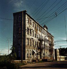 (deatonstreet) Tags: ohio building abandoned 120 film architecture factory kodak cincinnati historic 100 automat flexaret ektar midwesttextiles