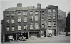 Winetavern Street, Dublin, original buildings, now demolished.