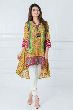 indian fashion Men -- Click VISIT link above to read Pakistani Casual Wear, Pakistani Dress Design, Pakistani Outfits, Indian Outfits, Stylish Dresses For Girls, Stylish Dress Designs, Frocks For Girls, Simple Dresses, Designer Kurtis