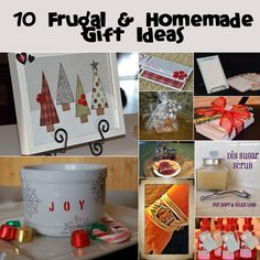 DIY christmas gift ideas for friends, neighbors, teachers, etc.