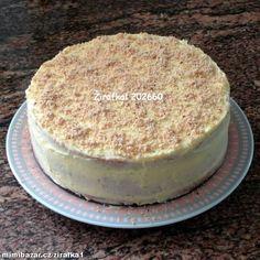 Jednoduchý ořechodý dort s pudinkovým krémem průměr formy 23cm S podrobným fotopostupem | Mimibazar.cz Tiramisu, Ethnic Recipes, Food, Essen, Meals, Tiramisu Cake, Yemek, Eten