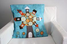 Декоративные подушки для создания уюта в детской комнате: идеи для творческих мам - Ярмарка Мастеров - ручная работа, handmade