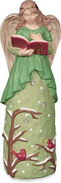 Angelstar Jewels of Faith Engel Figur, Weihnachten Engel mit Buch, 5–1/2Zoll
