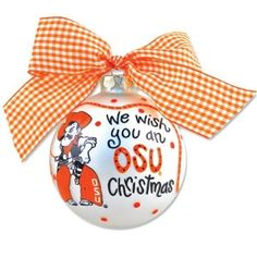 72 best Christmas - OSU images on Pinterest in 2018 | Oklahoma state ...