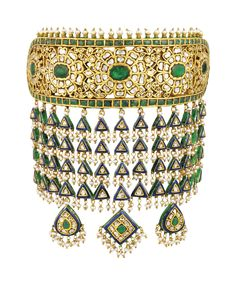 Rajput Jewellery, Pakistani Jewelry, Bridal Jewellery, Indian Jewelry, Wedding Jewelry, Enamel Jewelry, Diamond Jewelry, Antique Jewelry, Jewelry Illustration