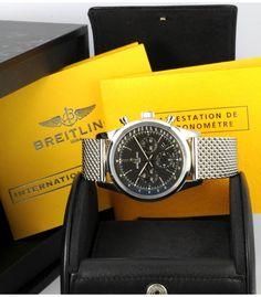 Breitling Transocean Chronographe NEUF boite et papiers