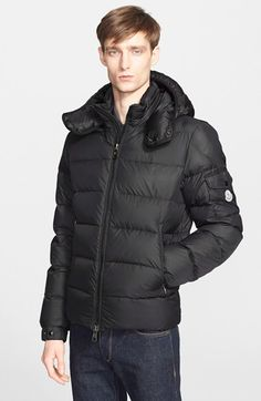 Men's Moncler 'Himalaya' Hooded Down Jacket #moncler #jackets #FW15