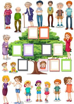 Spanish Interactive worksheets , Check more a. Spanish Interactive worksheets , Check more at appearanceworkshe. Letter Worksheets For Preschool, Spanish Worksheets, Family Worksheet, Spanish Lesson Plans, Family Theme, Petite Section, Family Illustration, School Subjects, Lessons For Kids
