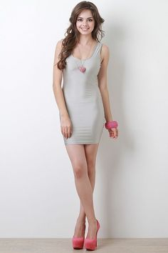 Step your game in this Make A Move Dress. Tight Dresses, Sexy Dresses, Short Dresses, Fashion Dresses, Girls Dresses, Beautiful Girl Image, Beautiful Models, Sexy Outfits, Dress Outfits