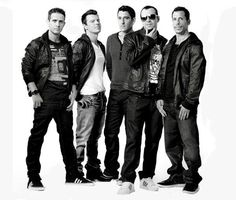 New Kids On The Block...yes, back in the day. But OMG Donnie Wahlberg...!!!!!!