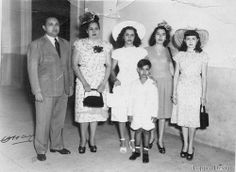 A family in Havana in the 1940s Source: Sacheverelle