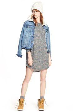 Thread & Supply Jacket and One Clothing Dress available at #Nordstrom