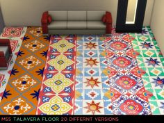 Talavera Floor 1 by midnightskysims at SimsWorkshop via Sims 4 Updates