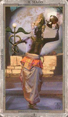 I Tarocchi di Visionaire - The Magician