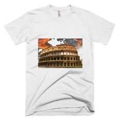 """Colosseum Twilight"" short sleeve men's t-shirt"