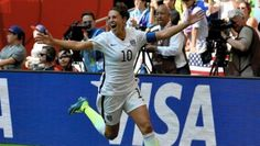 Carli Lloyd's Hat-Trick in the #worldcup final. #USWNT #Soccer