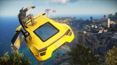 Once again get acquainted with the trusty grappling hook belonging to one Rico Rodriguez in Just Cause 3 with this brand new action packed gameplay trailer. Mad Max, Playstation, Just Cause 2, Military Coup, Metal Gear Solid, Trailer, Ps4 Games, Grand Theft Auto, Weird And Wonderful