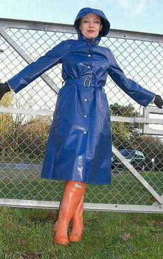 Raincoats For Women Rain Coats Yellow Raincoat, Vinyl Raincoat, North Face Rain Jacket, Rain Jacket Women, Imper Pvc, Langer Mantel, Raincoats For Women, Bronze, Wraps