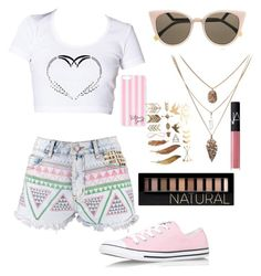 Untitled #4 by doctorwho-th on Polyvore featuring polyvore, fashion, style, Boohoo, Converse, Fendi, Victoria's Secret, Forever 21 and NARS Cosmetics