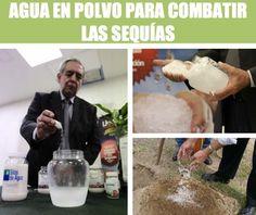 La Solución Definitiva Para Las Sequías: Agua En Polvo Inventada Por Un Mexicano - #CienciayTech  http://www.vivavive.com/la-solucion-definitiva-para-las-sequias-agua-en-polvo-inventada-por-un-mexicano/