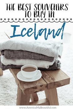 from Iceland: The Best Things to Buy – America My Beautiful The BEST souvenirs to bring back from Iceland.The BEST souvenirs to bring back from Iceland. Iceland Shopping, Iceland Travel Tips, Iceland Budget, Iceland Adventures, Cool Things To Buy, Good Things, European Travel, Travel Guides, Travel Hacks