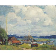 Art History News: Leon Kroll at Auction and in Galleries