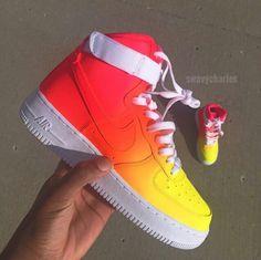 Custom Nike Air Force One @swavycharles