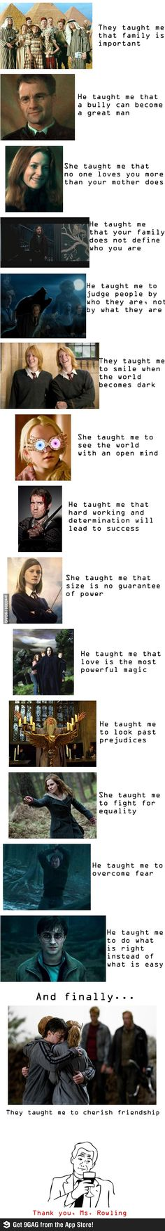 Life lessons from Harry Potter