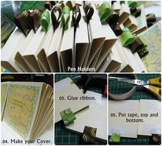 what madeleine loves: Acrylic Stand Sticky Notes Holder : a wedding favor
