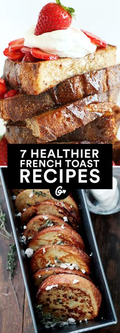 Your favorite weekend breakfast made healthier #french #toast #healthy http://greatist.com/eat/healthier-french-toast