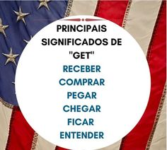 """Principais significados de """"Get"""". Free English Lessons, Learn English For Free, English Speaking Skills, Learn English Grammar, English Reading, English Study, Education English, Teaching English, English Time"""