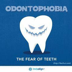 Lets just hope the dentist doesn't have odontophobia!   www.martinandshengdental.com