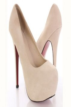 Cream Heels | Shoes | Pinterest | Shoes, Cream and Heels