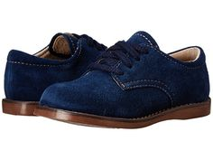 FootMates Bucky 2 (Toddler/Little Kid) Blue Suede - Zappos.com Free Shipping BOTH Ways