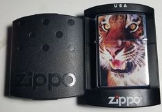 ZIPPO Lighter TIGER-K 04/2004-NEW OLD STOCK-COMPLETE