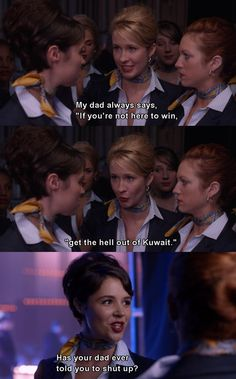 Pitch Perfect.  I think I'm about to have this whole movie pinned...