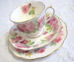 Vintage+Royal+Albert+China+Tea+Trio+Princess+by+TheWhistlingMan