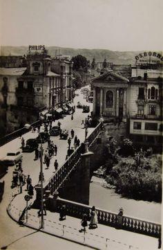 Puente viejo Peligros. Vía Murcia Postales