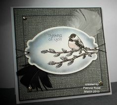 QFTD155,  F4A159, WT417, Thinking of you by kokirose - Cards and Paper Crafts at Splitcoaststampers