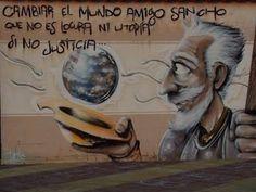 Cambiar al mundo.... Algo de Cervantes... ¡Buenos días!