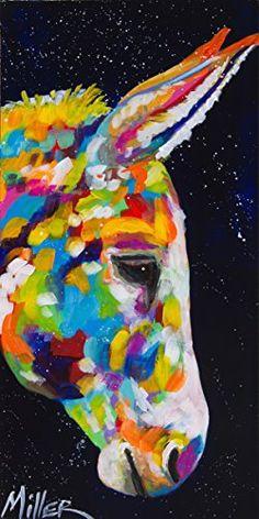 Painting: Donkey Dreams