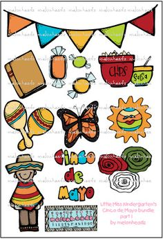 Little Miss Kindergartens Cinco de Mayo bundle PART 1