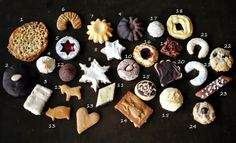 Running a marathon is still on my to-do list. While dreaming to achieve this goal in 2014 I run a cookie Christmas marathon last wee. My Recipes, Christmas Cookies, Marathon, Baking, Desserts, Christmas Recipes, Food, Biscuits, Xmas Cookies